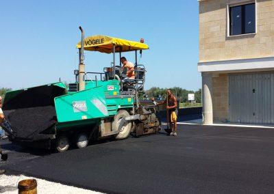 Realizzazione area di parcheggio condominiale – Cellamare (Ba)