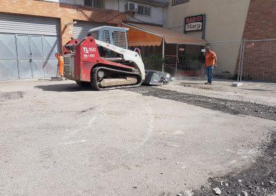 """Ripristino e rifacimento piazzale ex stazione di servizio """"Esso"""" Presso Brindisi (Br)"""
